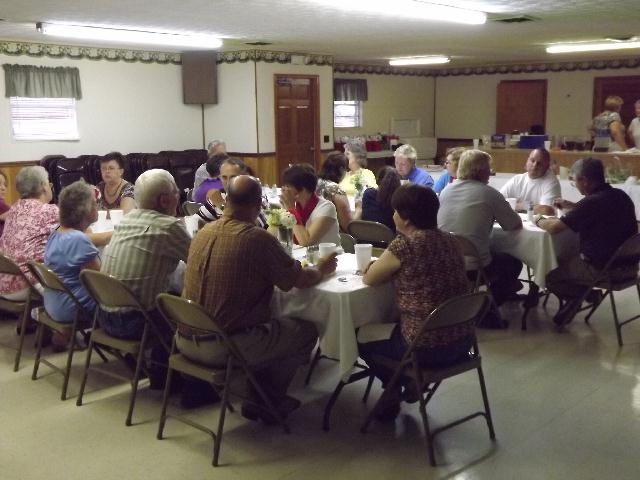 Choir Appreciation Dinner 8/12